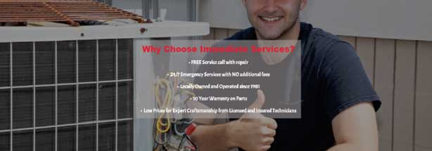 Air Conditioning Repairs In Dawsonville, Cumming, Dahlonega, GA and Surrounding Areas | Immediate Services Air Conditioning and Heating